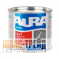 ТМ Aura 3 в 1- антикоррозионная грунт-эмаль (ТМ Аура 3 в1), 2.5 кг.