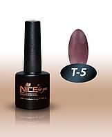 Гель-лаки для ногтей Thermo Nice For You, T-5 , 8,5 мл