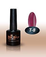 Гель-лаки для ногтей Thermo Nice For You, T-8 , 8,5 мл