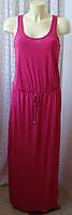 Платье женское модное красивое в пол летнее вискоза Papaya р.46 6237