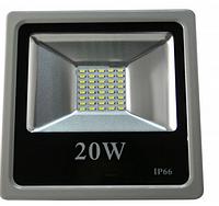 Светодиодный прожектор 20 Вт smd2835 6500К, фото 1