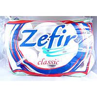 Туалетная бумага листовая, 2 слоя, Zefir classic, 6 ролек 300 листов, Польша