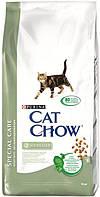 Cat Chow (Кэт Чау) Sterilized Корм для стерилизованных/кастрированных кошек и котов 15 кг