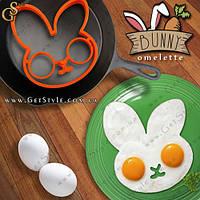 "Форма для яичницы - ""Bunny Omelette"" - 12 х 12 см."