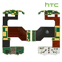 Шлейф для HTC P4550/TYTN II, межплатный, с компонентами, с верхним клавиатурным модулем (оригинальный)