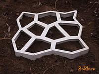 Форма для виготовлення садових доріжок 40х40, фото 1