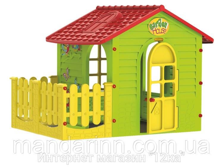 Игровой домик с террасой