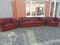 Кожаная мебель , мягкая мебель с европы chesterfield