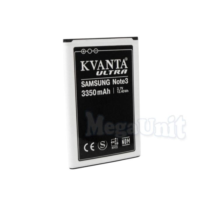 KVANTA. Усиленный аккумулятор для Samsung Galaxy Note 3 (3350мАч)