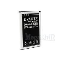 KVANTA. Усиленный аккумулятор для Samsung Galaxy Note 3 (3350мАч), фото 1