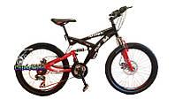 """Горный скоростной велосипед Azimut Wind GD 24"""""""