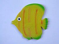 """Мини-коврик для ванной для развития детей """"Рыбка круглая"""""""