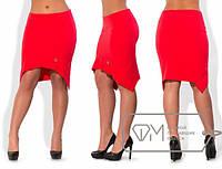 Модная юбка модель № X3893,размеры 48, 50, 52