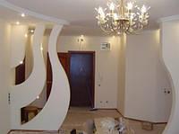 Межкомнатные декоративные перегородки из гипсокартона