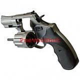 Револьвер под патрон Флобера Stalker 2.5 сталь черный, фото 2