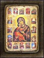 Икона Божьей Матери Замилования Владимирская