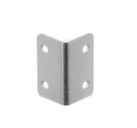 Уголок 1312 стяжка стальная оцинкованная для профиля с полкой 20*20мм
