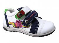Кроссовки кожаные B&G