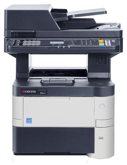 Монохромный МФУ Kyocera ECOSYS M3040dn  – копир/ принтер/ полноцветный сканер формата А4.