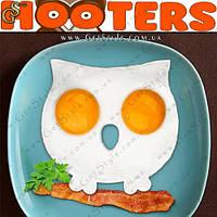 "Форма для яичницы - ""Hooters"" - 12.5 х 12 см."