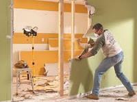 Демонтаж стенок, шкафов, конструкций из ДСП и фанеры