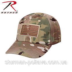 Бейсболка тактична мультикам Tactical Operator Cap (Multicam) USA