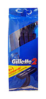 Одноразовые бритвы Gillette 2 (9+1) - 10 шт.