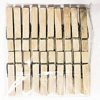 Прищепки деревянные Большие.(1х20) (150уп/ящ)