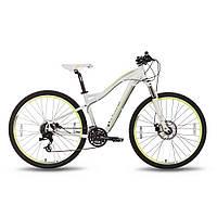 "Велосипед 27,5"" PRIDE 650 MD W рама - 16"" бело-зеленый матовый 2016, фото 1"