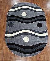 Рельефный ковер Melisa 0219 серый