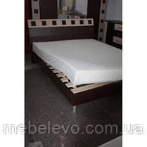 Кровать София 160 940х1672х2130мм венге темный + венге светлый   Мебель-Сервис, фото 2