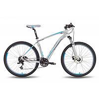 "Велосипед 27,5"" PRIDE 650 MD рама - 19"" серо-синий матовый 2016"