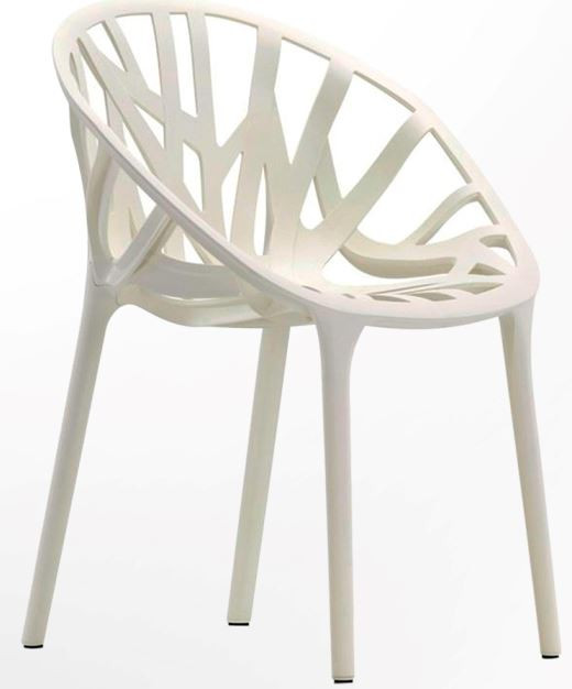 Стул кухонный Coral Пластик белый. Высота стула с учётом спинки - 790 мм. Варианты цветовой гаммы: Белый, черный, прозрачный чёрный.
