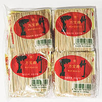Зубочистки бамбук в пакете (20шт/уп)