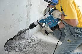 Демонтаж бетонных стен (до 19 см)