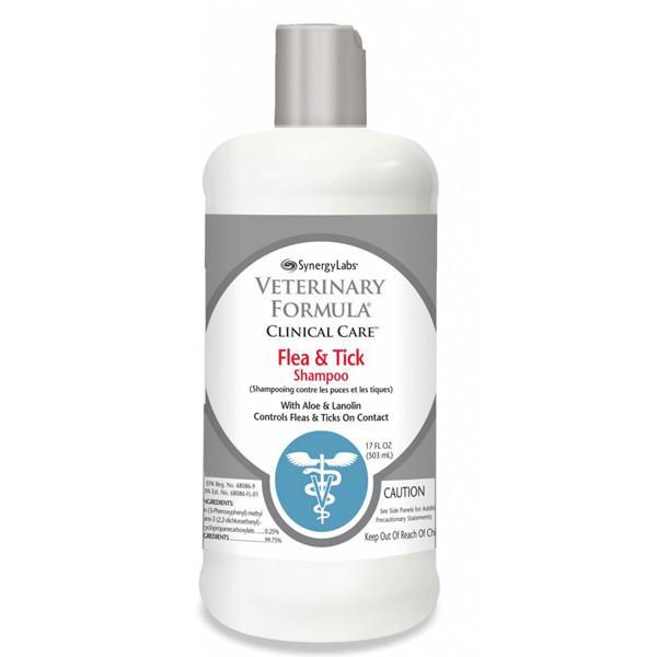 Veterinary Formula ПРОТИВ БЛОХ И КЛЕЩЕЙ Flea&Tick Shampoo шампунь для собак