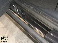 Накладки на пороги Premium Ford Explorer V 2010-
