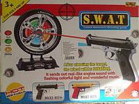Лазерный пистолет S.W.A.T с мишенью