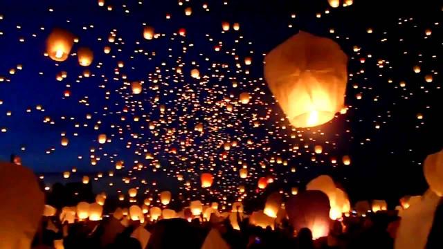 Небесные фонарики купить Киев