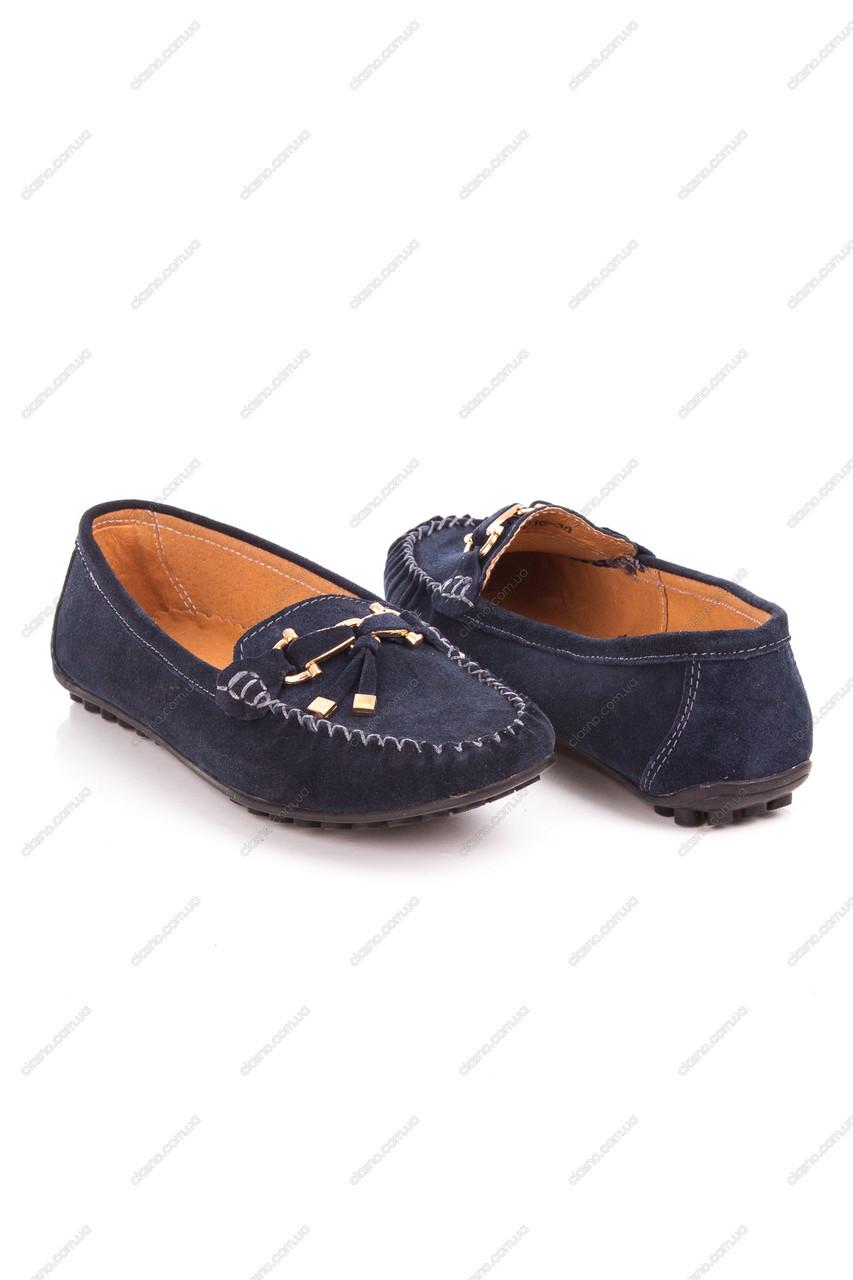 Женские балетки All Shoes-62016 син-Z акция