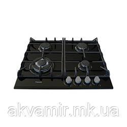 Варочная панель Fabiano FHG 10-44 GH-T Black Glass (черное стекло) газовая