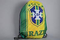 Сумка на шнурках Сборная Бразилия Евро 2016, фото 1