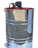 Медогонка 3-х рамочная нержавеющая поворотная, периметр кассеты нержавейка, сетка оцинковка