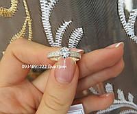 Кольцо Люкс из серебра 925