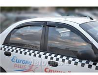 Ветровики для Chevrolet Lanos Sd 2005-