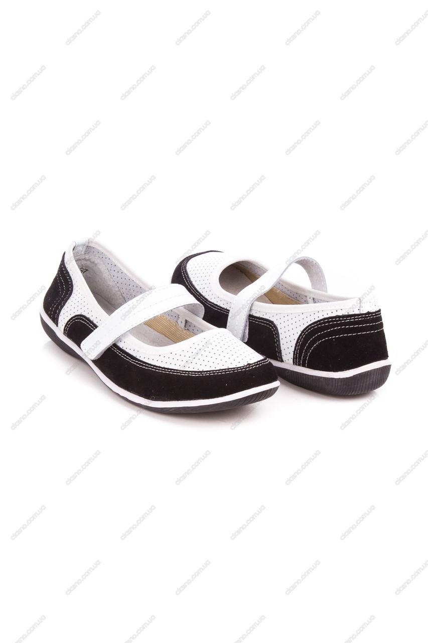 Женские балетки All Shoes-69040 бел-Z акция