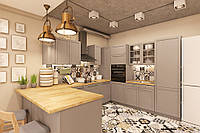 Eco-style kitchen 201 by Pinchuk ADT