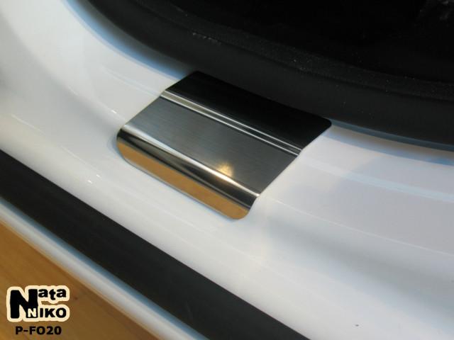 Накладки на пороги Premium Ford Mondeo IV 2007-