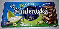 Шоколад ORION Studentska молочный с арахисом и грушей 180g