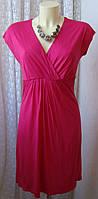 Платье женское легкое летнее яркое модное вискоза мини Monsoon р.44 6243